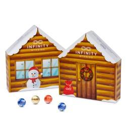 Kalendarz Adwentowy Lindt Domek eko / Lindt Advent Calendar House Eco