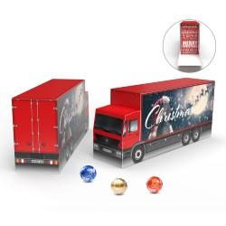 Kalendarz Adwentowy ciężarówka eko Lindt Lindor / Lindt Lindor Advent Calendar Truck Eco