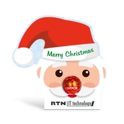 """Czekoladowa Trufla Lindt """"Święty Mikołaj"""" / Lindt Lindor Chocolate Truffle """"Santa Claus"""""""